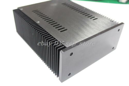 B2109 Full Aluminum Power amplifier Enclosure PSU chassis black front CASE