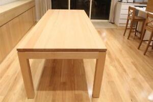 Local Made Solid Tas Oak Timber Veromont Dining Table 1500/900