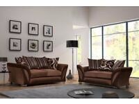 SALE DFS SHANNON SOFA RANGE brown BRAND NEW FACTORY SEALED !!PAY CASH ON DELIVERY!!