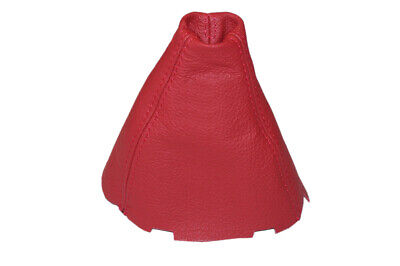 Shift Boot For Acura CSX 2006-2011 Red Leather