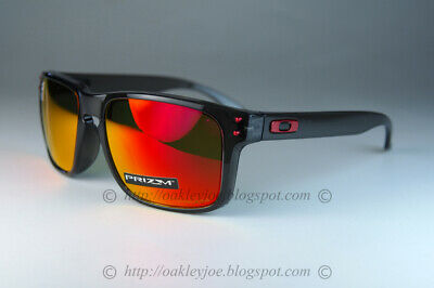 Oakley Holbrook Sunglasses OO9244-2856 Grey Smoke W/ PRIZM Ruby Iridium (AF)