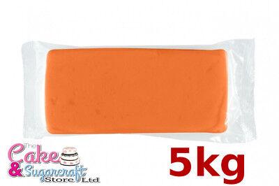 Sugarpaste Icing Orange M&B 5 kg Ready to Roll Luxury Bulk Discount