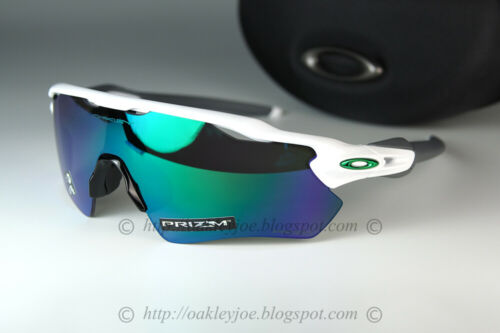 Oakley RADAR EV PATH Sunglasses OO9208-7138 Polished White W/ PRIZM Jade Lens