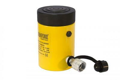 Single-acting Cylinder With Lock Nut 30tons 2 Yg-3050ls