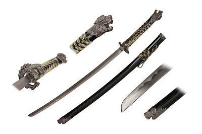 Golden Sword (Highlander Movie Sword Katana Connor Macleod TV Golden Open Mouth Dragon)