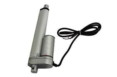 Heavy Duty Linear Actuator 6 Inch Stroke 225Lb Max Lift Output 12 Volt Dc