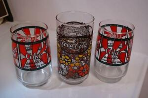 Coca Cola Collectible Glass