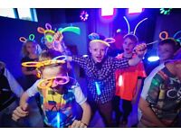 Children's UV Bubble Party From £99