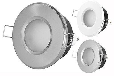 Badezimmer Einbaustrahler IP44 LED Leuchtmittel Set Bad Dusche 230V GU10 Spot ()