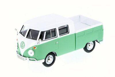 Volkswagen Type 2 Pick-Up Bus, Green - Motor Max 79343, 1/24 Scale Diecast Model