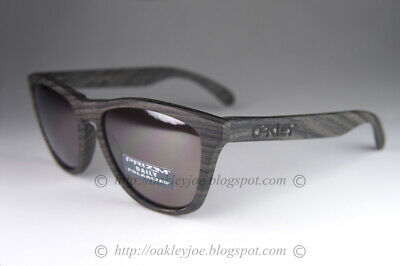 Oakley Frogskins POLARIZED Sunglasses OO9013-89 Woodgrain W/ PRIZM Daily (Oakley Sunglasses Lenses Polarized)
