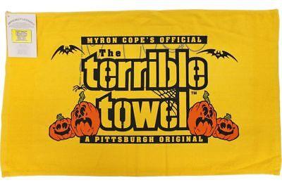 MYRON COPE'S PITTSBURGH STEELERS HALLOWEEN TERRIBLE TOWEL NEW with TAGS - Pittsburgh Steelers Halloween