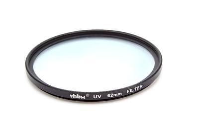 Kamera UV Schutzfilter mit Innen- und Außengewinde für 62mm Objektivgewinde