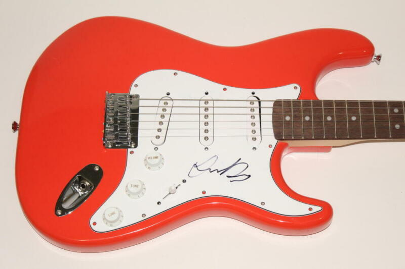 JUSTIN BIEBER SIGNED AUTOGRAPH FENDER BRAND ELECTRIC GUITAR - PURPOSE, CHANGES