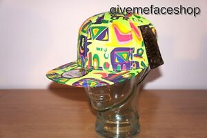 RETRO VINTAGE SUPREME AZTEC SNAPBACK CAPS, FRESH PRINCE HATS, FLAT PEAK FITTED