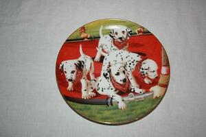 2   SPECIAL COLLECTIBLE PLATES-  DALMATIONS