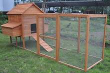 CHICKEN COOP, EXTRA LARGE, CHOOK, RABBIT, RUN Skye Frankston Area Preview