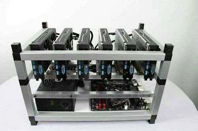 Crypto Coin Mining Rig 3200 Sols S 140 Mh S Zcash Zec Ethereum Eth 6X Gtx 1080