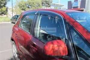 Injection Weather Shields Weathershields Window Visors Suzuki SX4 Hatch 07-15