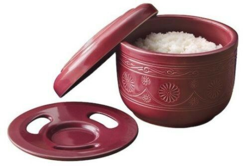 NEW Ohitsu Meijin Rice Steamer Pot-Designer ceramic serving