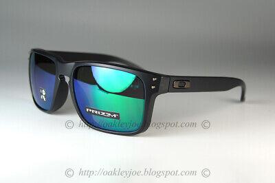 Oakley Holbrook Sunglasses OO9244-2956 Matte Black Ink W/ PRIZM Jade Lens (AF)