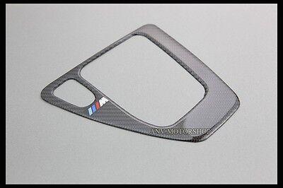 CARBON GEAR SHIFT SHIFTER SURROUND FRAME FOR BMW E90 E91 E92 E93 AT AUTOMATIC M