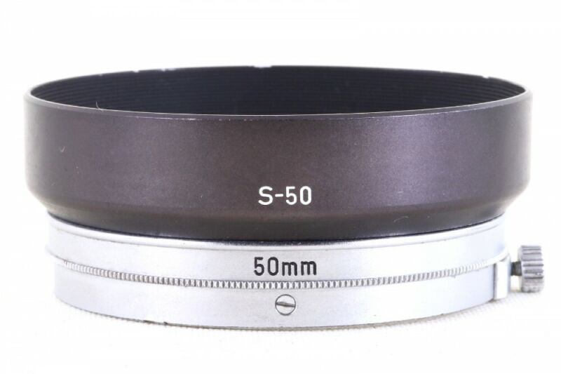 Canon Metal Hood S-50 for 50mm/1.4 LTM39 from Japan Exc+ #3