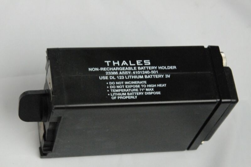 NEW Thales Battery Adapter For MBITR AN/PRC-148 Radio