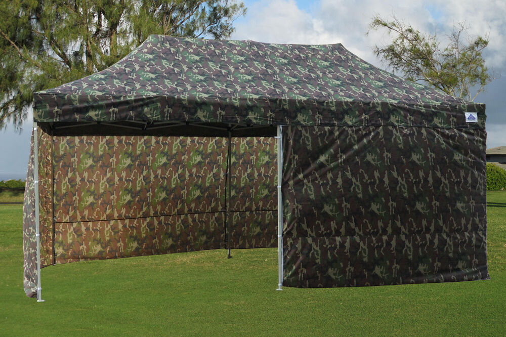Ez Up Canopy 10x20 >> Details About 10 X 20 Pop Up Canopy Party Tent Gazebo Ez Camouflage E Model