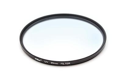 Kamera Universal UV Schutz-Filter mit Innen- und Außengewinde 95mm Metall