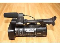 Sony Z5 Proffessional HD Camera boxed used