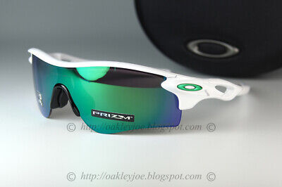 Oakley Radarlock Path Sunglasses OO9206-4338 Polished White / PRIZM Jade Iridium