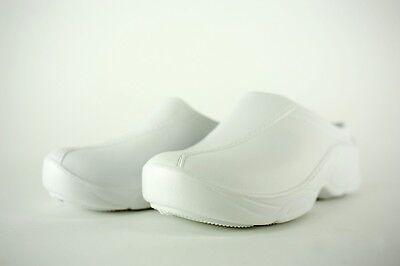 Strapless Clogs Natural Uniforms Lightweight Nursing Shoes Medical Footwear 9501