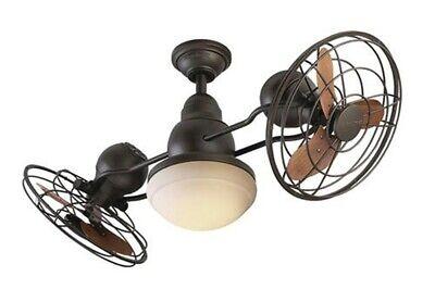 Litex-JP13EB6CRS-Soe Fieldere - 41 Ceiling fan With Light Kit  Bronze Finish