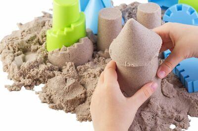 Kinetischer Sand Knetsand Magic Sand Förmchen Modelliersand Therapiesand Kinder