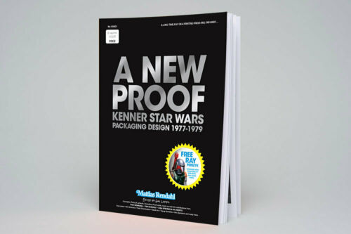 A NEW PROOF - Kenner Star Wars Packaging Design 1977-1979