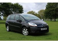 2008 CITROEN C4 GRAND PICASSO 1.8 SX 80K LOW MILES LONG MOT CLEAN CAR 7 SEATER FAMILY MPV