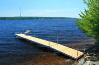 Enjoy your waterfront this summer with an affordable dock
