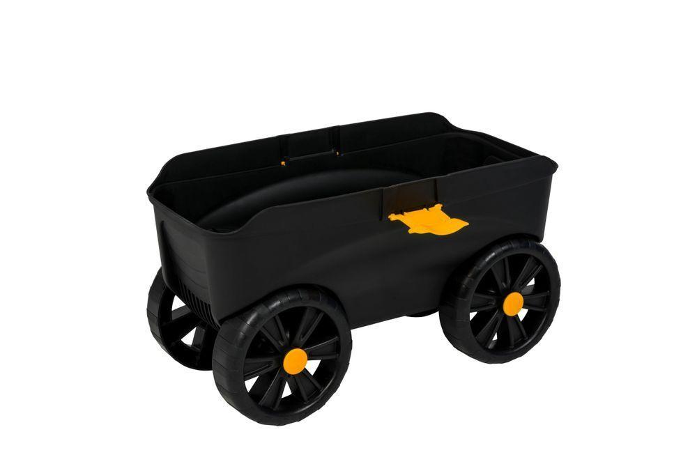 Gartenwagen rollbarer Gartenhocker Handwagen Transportwagen Rollsitz Roll Kneel