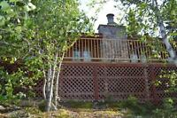 REMOTE RUSTIC CABINS FOR SALE in N. Saskatchewan