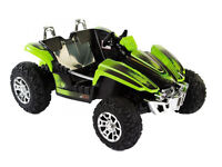 KIDS VERY BIG 12V BEACH BUGGY DIRT RIDER NEW LATEST DESIGN 3-6 YRS TWO SEATER