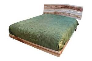 Natural Timber FLOW BED - Queen sized unique Wood made by Aussie Gladesville Ryde Area Preview