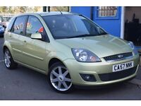 FORD FIESTA ZETEC CLIMATE (green) 2007