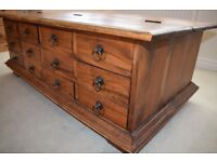 Merchant Chest Coffee Table Cost £325
