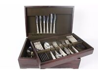 Beautiful Arthur Price England Country Plate Cutlery Dinner Set Boxed 2 Tiers