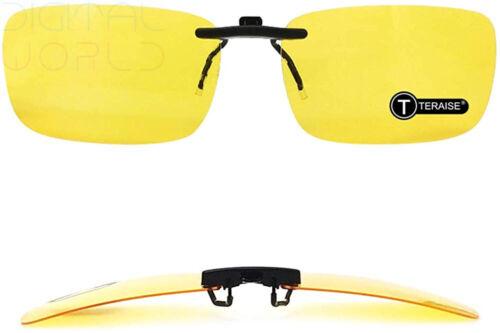 TERAISE Polarized Clip-on Sunglasses Over Prescription Glasses Anti-Glare UV400