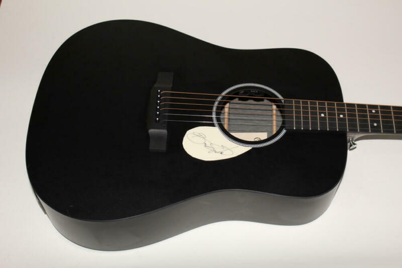 BRUCE SPRINGSTEEN SIGNED AUTOGRAPH C.F. MARTIN ACOUSTIC GUITAR - BORN TO RUN