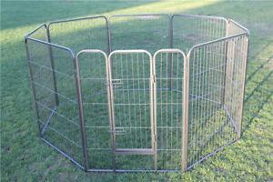 Heavy Duty Pet Dog Playpen Puppy Fence Kennel Run Enclosure Cage