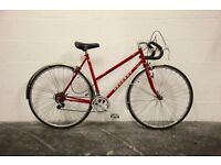 "Vintage Ladies PEUGEOT SPORT Racing Road Bike - 21"" Frame - 1980s Classic - Restored - Women's"