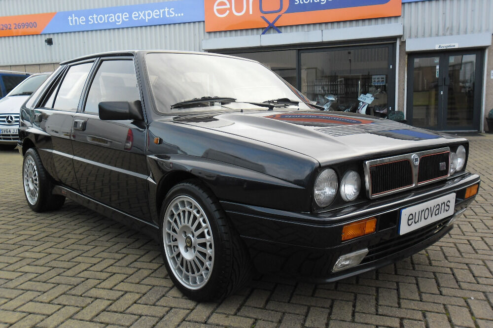 lancia delta hf turbo ie integrale black 1991 in ayr south ayrshire gumtree. Black Bedroom Furniture Sets. Home Design Ideas